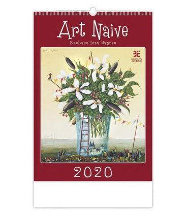 Wall calendar Art Naive 2020