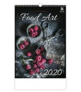 Wall calendar Food Art 2020