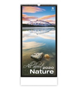 Wall calendar All About Nature 2020