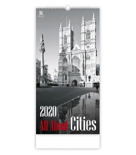 Wall calendar All About Cities 2020