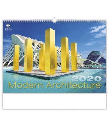 Wall calendar Modern Architecture 2020