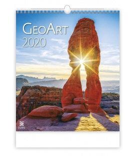 Wall calendar Geo Art 2020