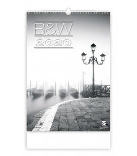 Wall calendar B&W 2020