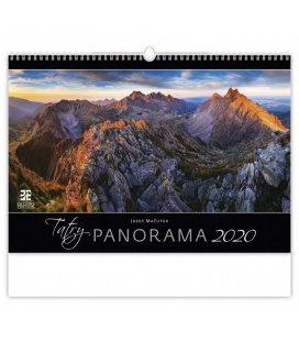 Wall calendar Tatry Panorama 2020