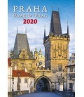 Wall calendar Praha/Prague/Prag 2020