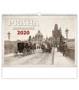 Wall calendar Praha historická 2020