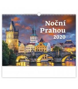Wall calendar Noční Prahou 2020