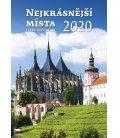 Wall calendar Nejkrásnější místa ČR 2020
