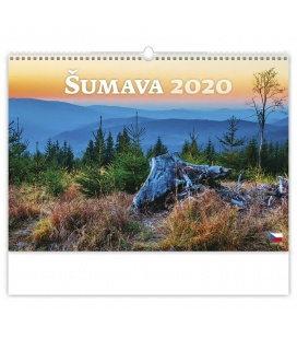 Wall calendar Šumava 2020