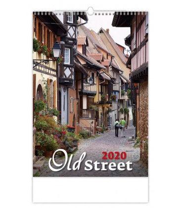 Wall calendar Old Street 2020