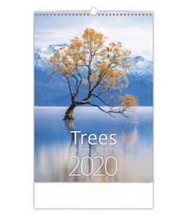 Wall calendar Trees/Baume/Stromy 2020