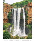 Wall calendar Waterfalls 2020