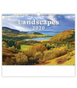 Wall calendar Landscapes 2020