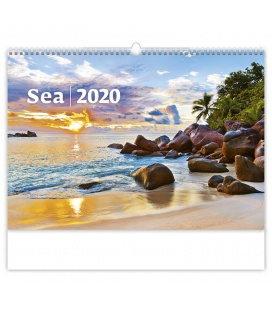 Wall calendar Sea 2020