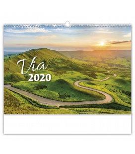 Wall calendar Via 2020