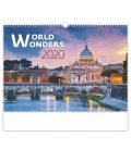 Wall calendar World Wonders 2020