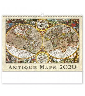 Wall calendar Antique Maps 2020