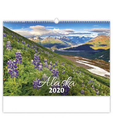 Wall calendar Alaska 2020