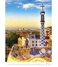Wall calendar Antoni Gaudí 2020