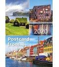 Wall calendar Postcard from... 2020