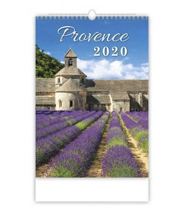 Wall calendar Provence 2020