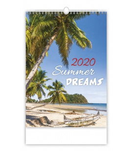 Wall calendar Summer Dreams 2020