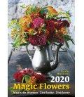 Wall calendar Magic Flowers/Magische Blumen/Živé květy/Živé kvety 2020