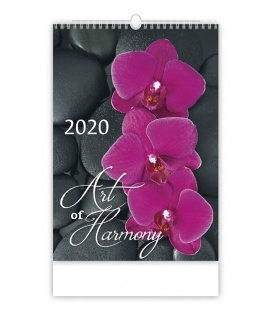 Wall calendar Art of Harmony 2020