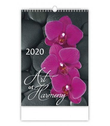 Wall calendar Art of Harmony 2020