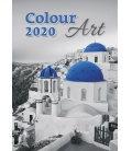 Wall calendar Colour Art 2020