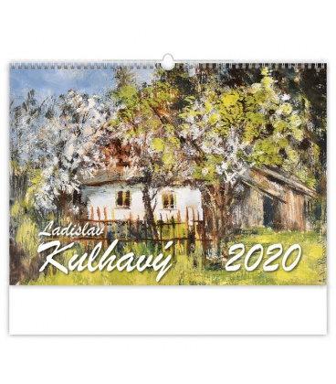 Wall calendar Ladislav Kulhavý 2020