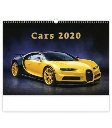 Wall calendar Cars 2020