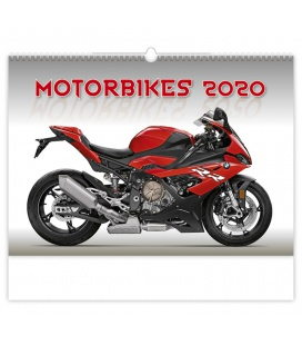 Wall calendar Motorbikes 2020