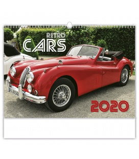 Wall calendar Retro Cars 2020
