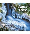 Wall calendar Aqua 2020