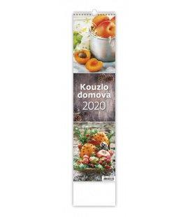 Wall calendar Kouzlo domova - vázanka 2020