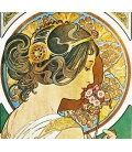 Wall calendar Alfons Mucha - vázanka 2020