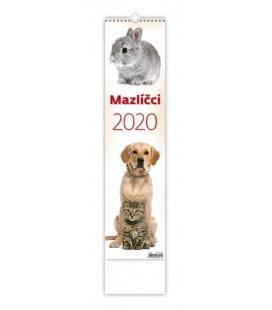 Wall calendar Mazlíčci - vázanka 2020