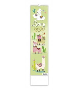 Wall calendar Lamy - vázanka 2020