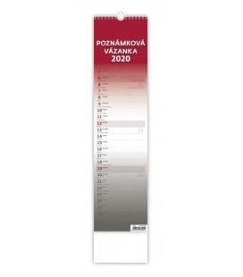 Wall calendar Poznámková vázanka - vázanka 2020