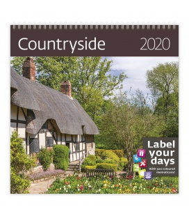 Wall calendar Countyside 2020