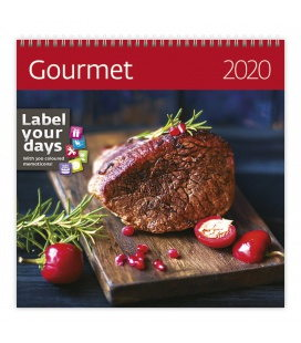 Wall calendar Gourmet 2020