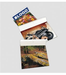 Cardboard for printing for wall calendars Promoline (34x7) 2020