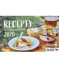 Table calendar Recepty na nakládané dobroty 2020