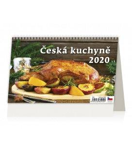Table calendar Česká kuchyně 2020