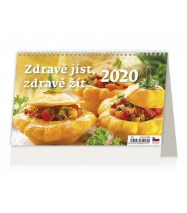 Table calendar Zdravě jíst, zdravě žít 2020