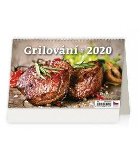 Table calendar Grilování 2020