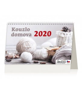Table calendar Kouzlo domova 2020