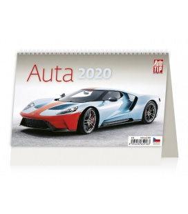 Table calendar Auta 2020