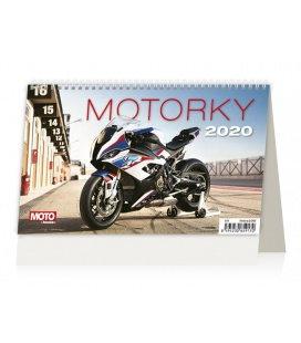 Table calendar Motorky ČR/SR 2020